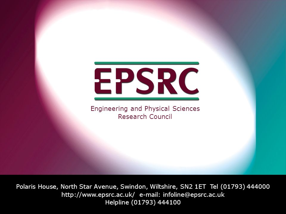 Engineering and Physical Sciences