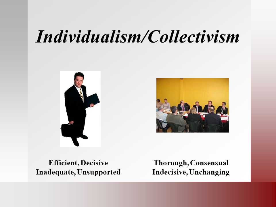 Individualism/Collectivism