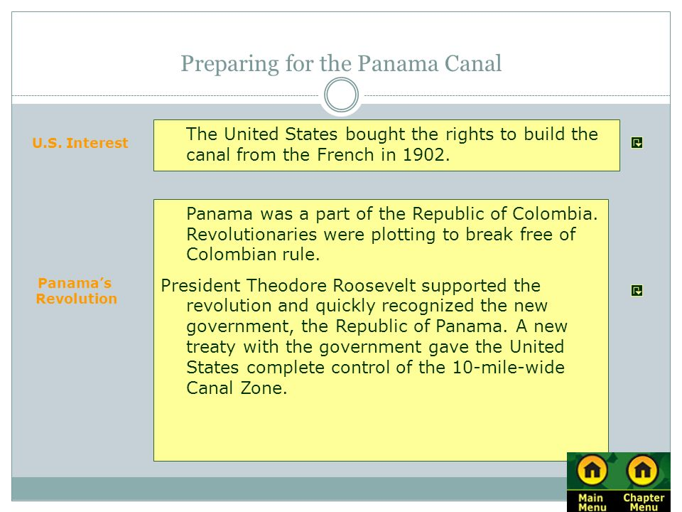 Preparing for the Panama Canal