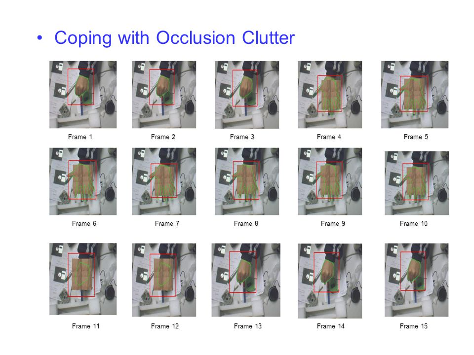 Coping with Occlusion Clutter
