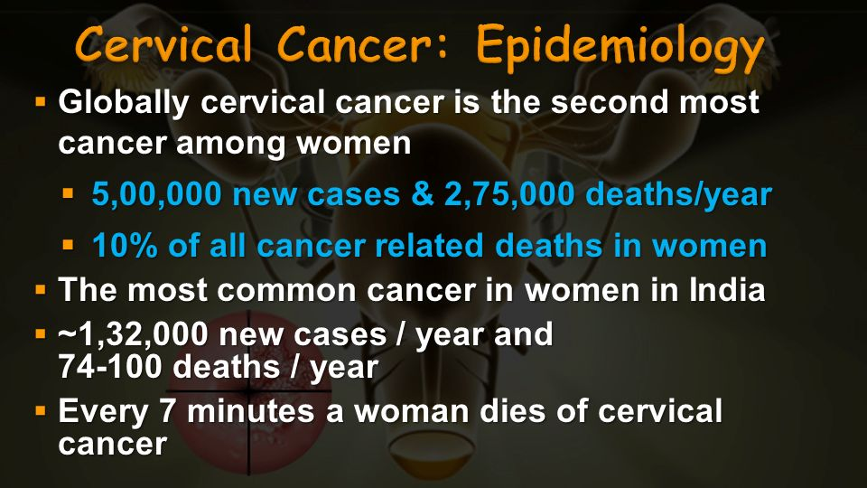 Cervical Cancer: Epidemiology