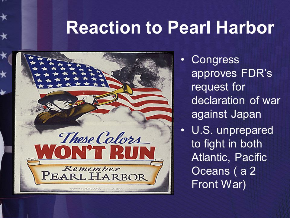 Reaction to Pearl Harbor
