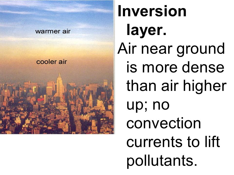 Inversion layer.