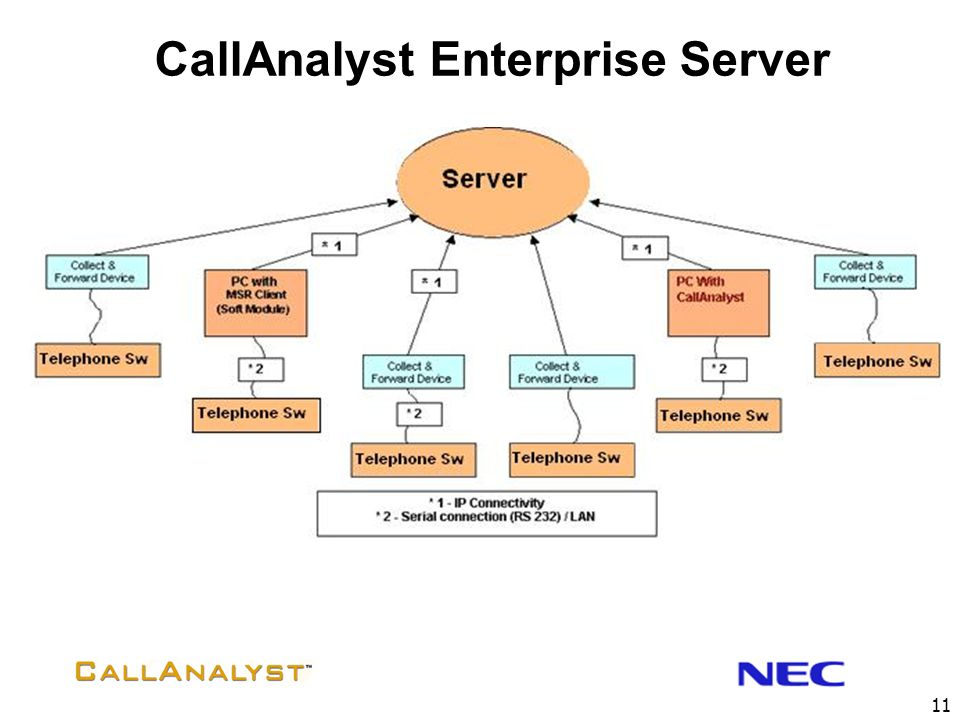 CallAnalyst Enterprise Server