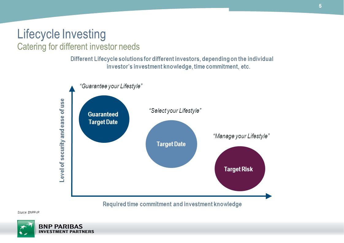 Lifecycle Investing Catering for different investor needs