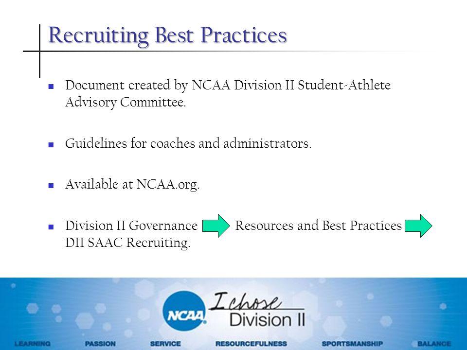 Recruiting Best Practices