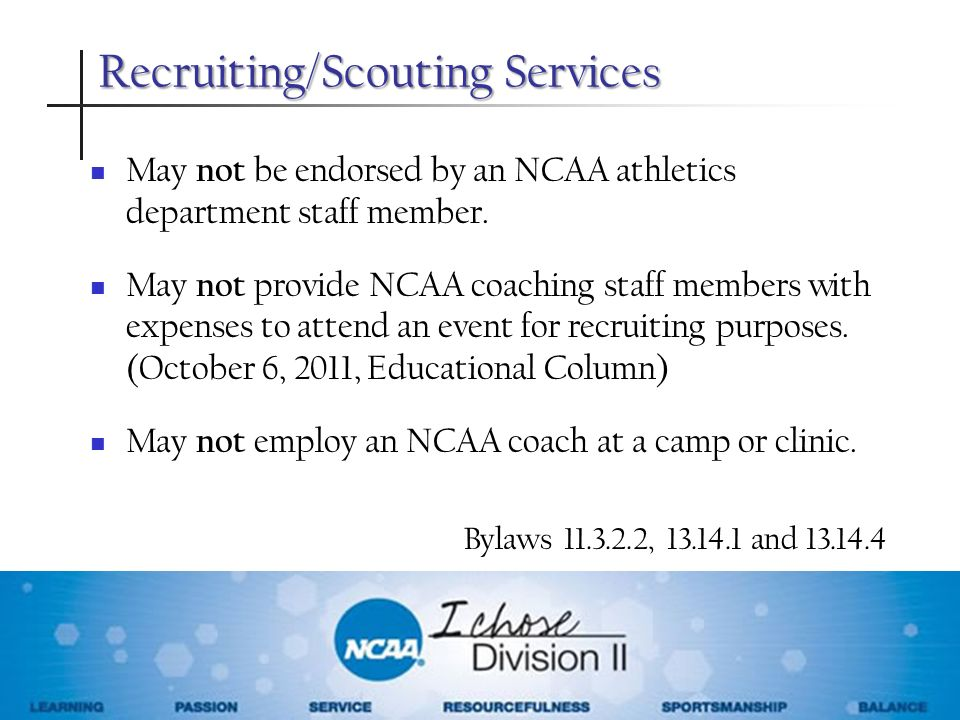 Recruiting/Scouting Services