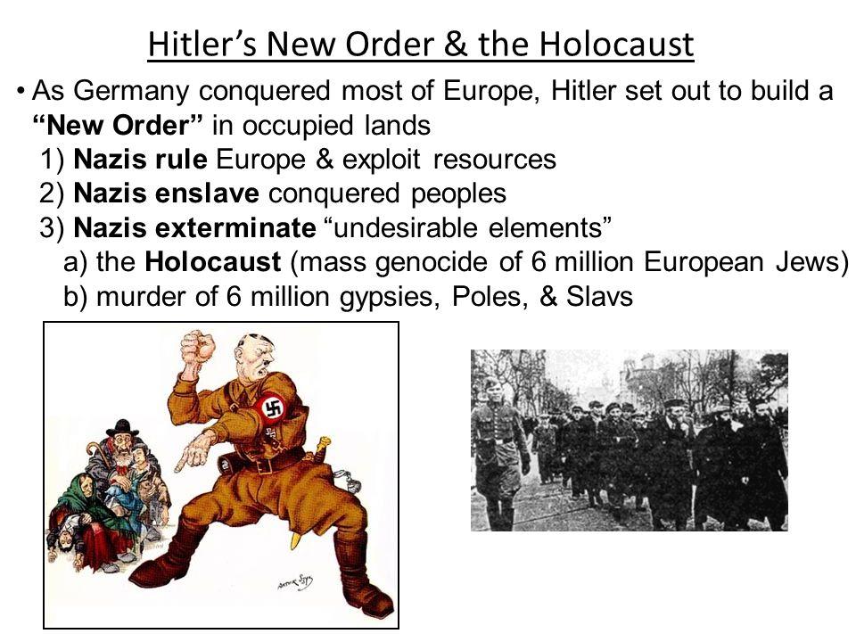 Hitler's New Order & the Holocaust