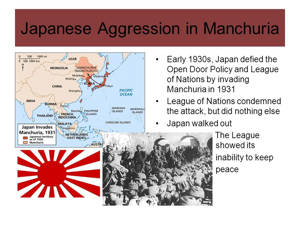 Japanese Aggression in Manchuria