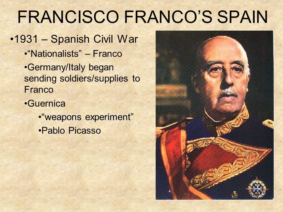 FRANCISCO FRANCO'S SPAIN