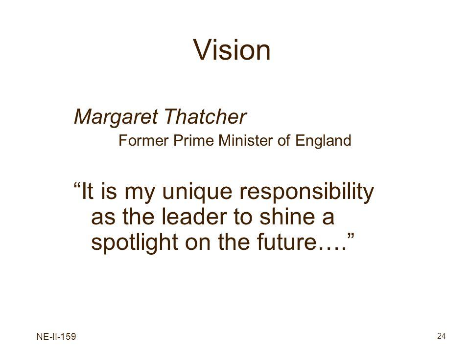 Former Prime Minister of England