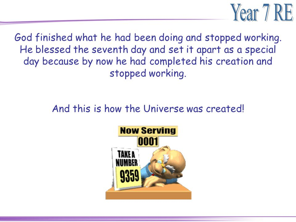 And this is how the Universe was created!
