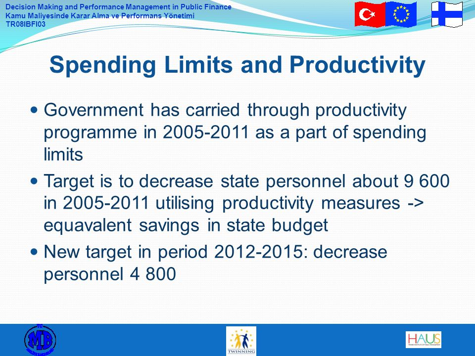 Spending Limits and Productivity