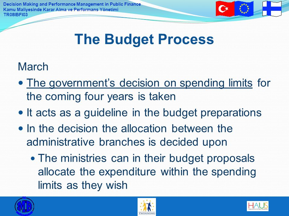 The Budget Process March