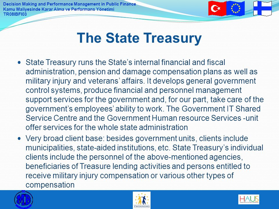 The State Treasury