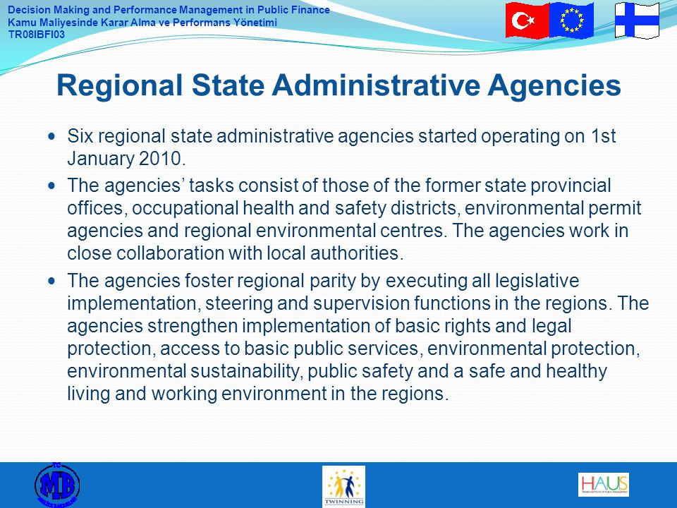 Regional State Administrative Agencies