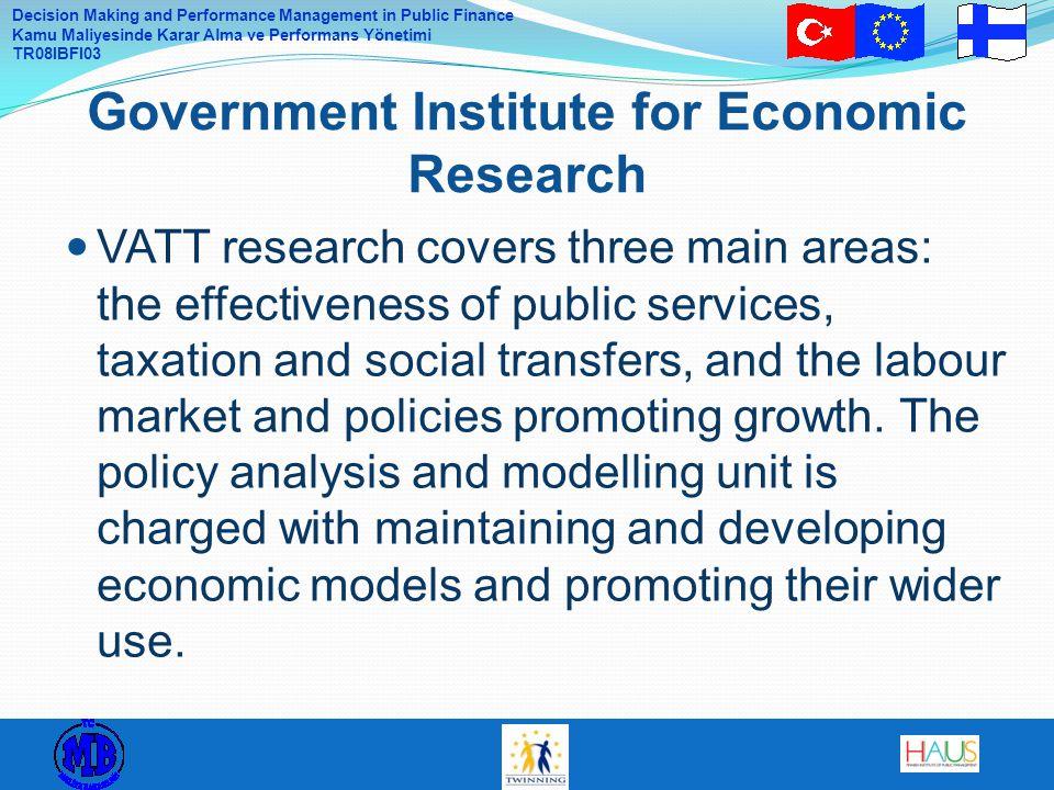 Government Institute for Economic Research