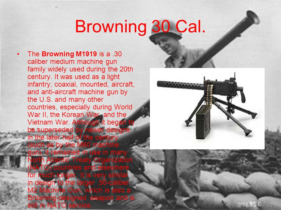 Browning 30 Cal.