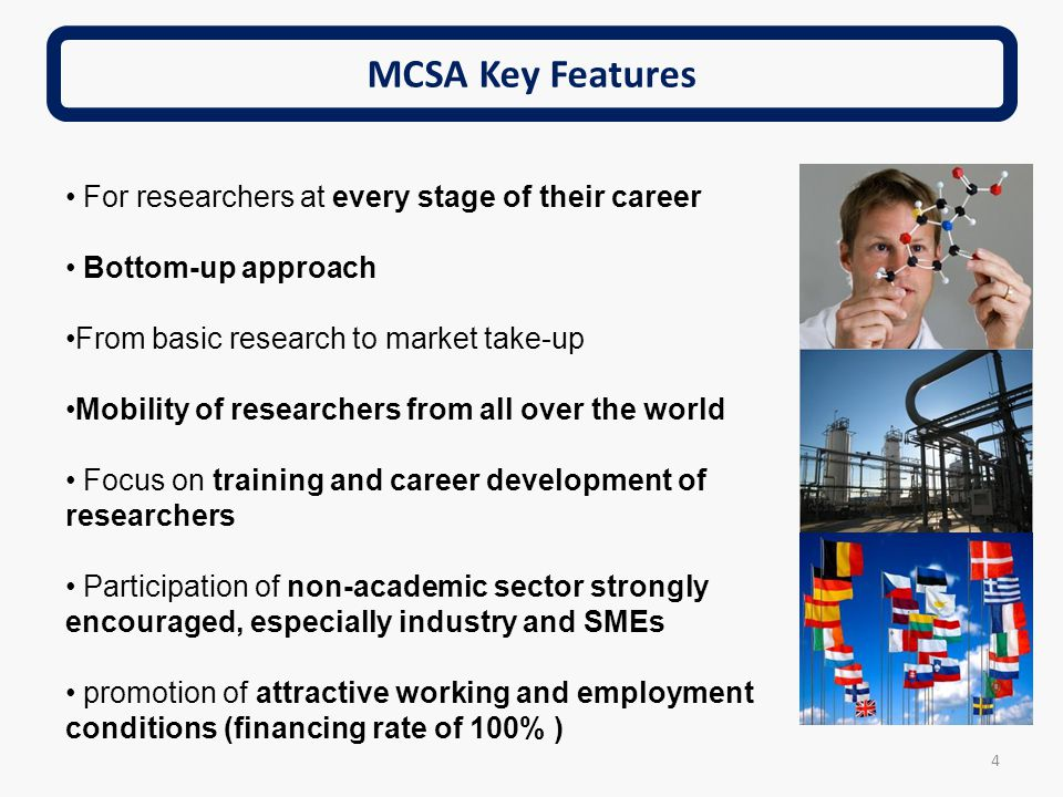 MCSA Key Features For researchers at every stage of their career