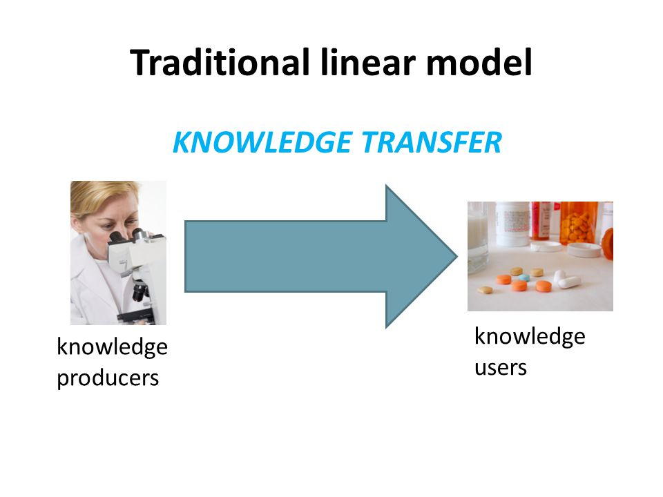 Traditional linear model