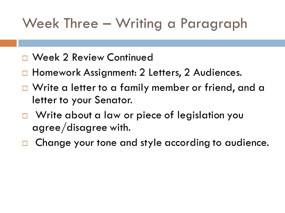 week three written assignment essay Hcs 325 - week 3 individual importance of teams paper hcs 325 week 3 individual assignment importance of teams resources: the five step planning process co.