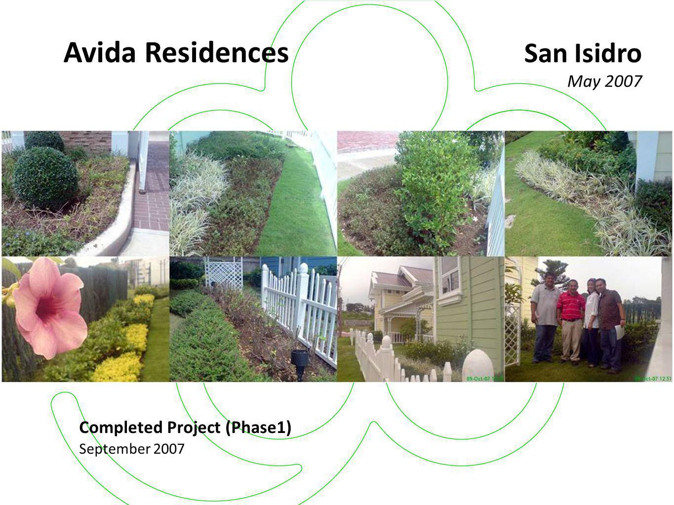 Avida Residences San Isidro May 2007 Completed Project (Phase1)