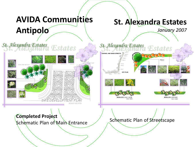 AVIDA Communities Antipolo St. Alexandra Estates January 2007
