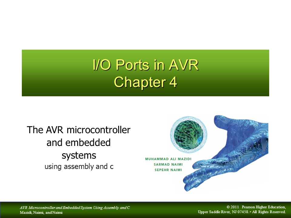 I/O Ports in AVR Chapter 4