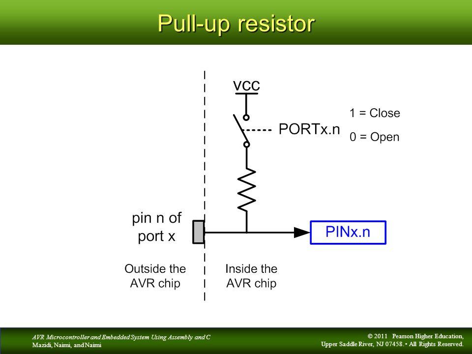 Pull-up resistor