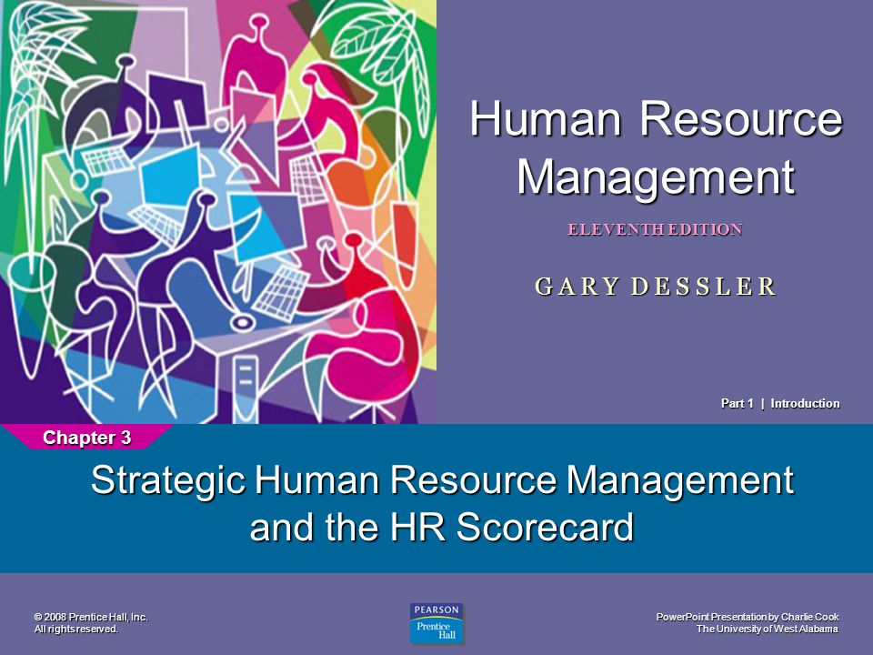 Strategic Human Resource Management and the HR Scorecard