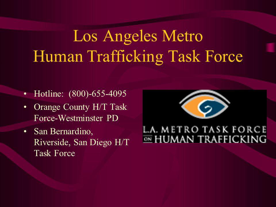 Los Angeles Metro Human Trafficking Task Force
