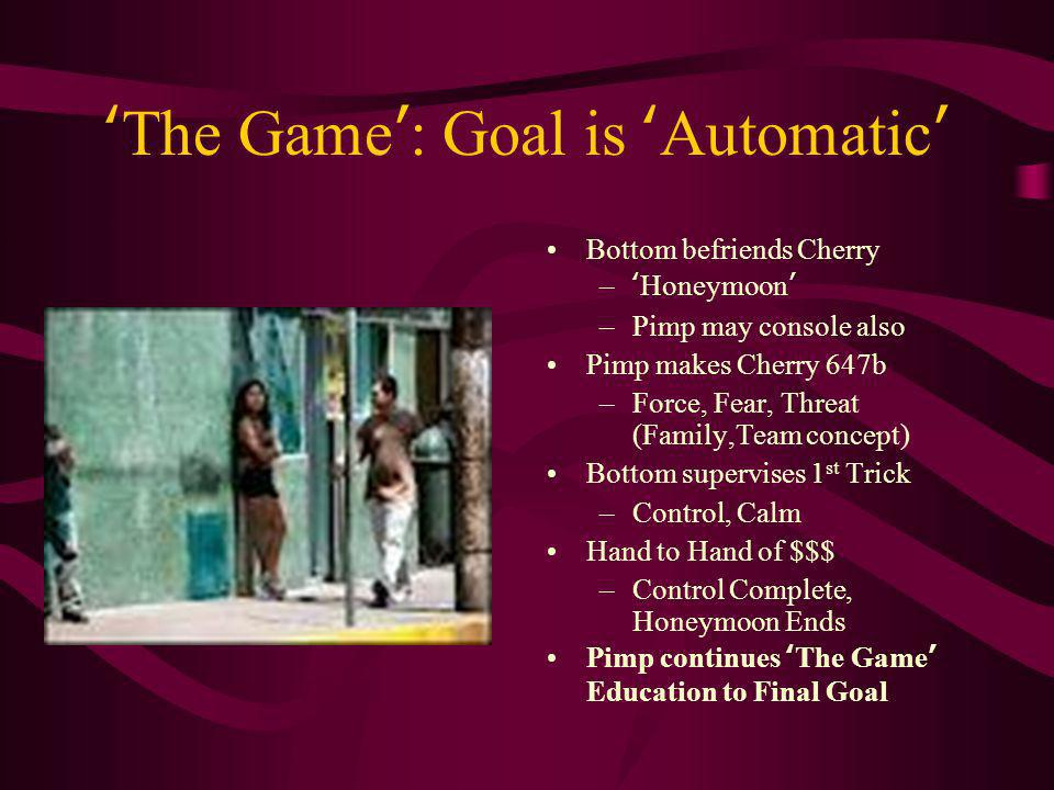 'The Game': Goal is 'Automatic'