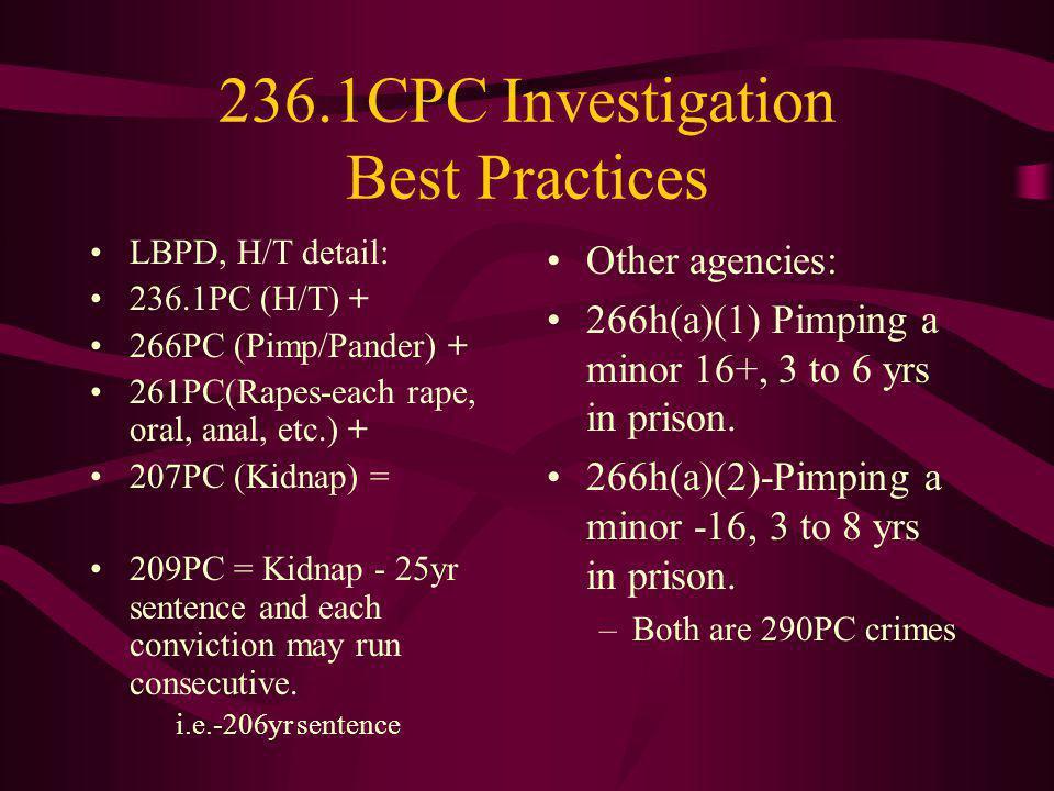 236.1CPC Investigation Best Practices