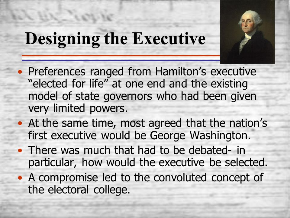 Designing the Executive