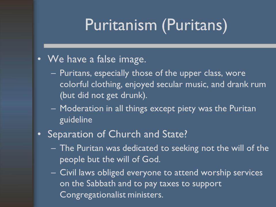 Puritanism (Puritans)
