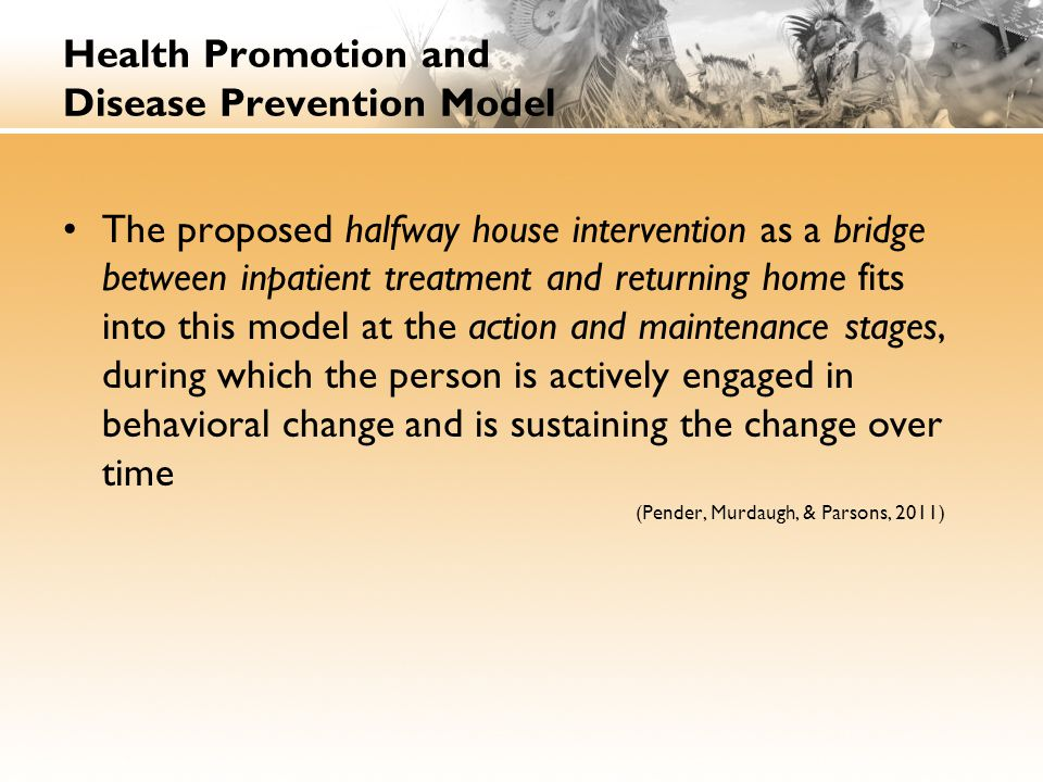 Health Promotion and Disease Prevention Model