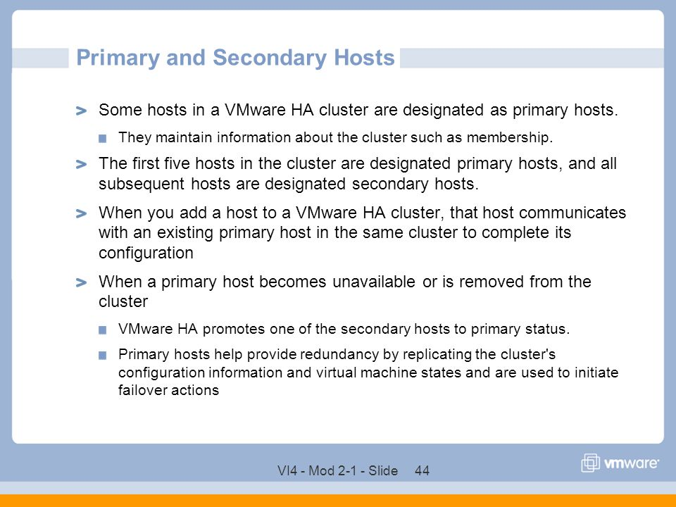 Primary and Secondary Hosts
