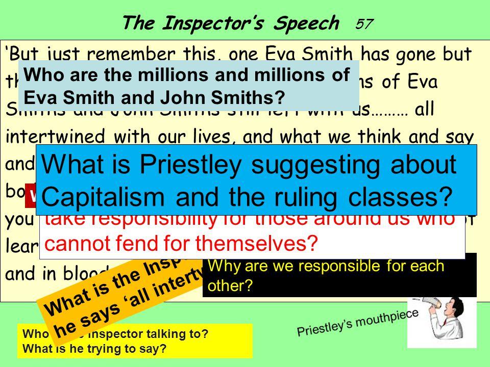The Inspector's Speech 57