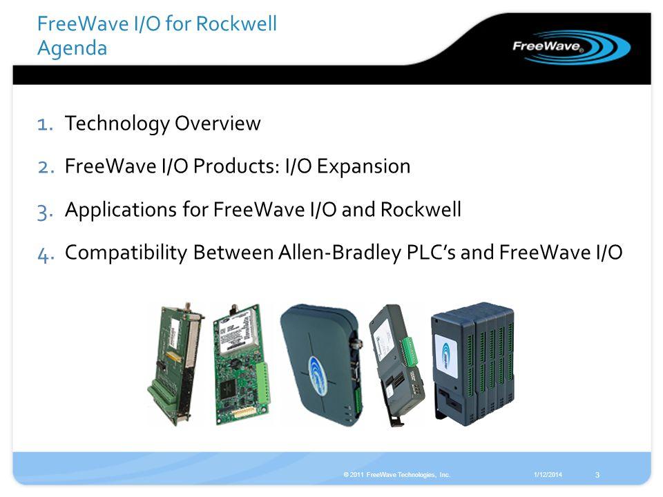 FreeWave I/O for Rockwell Agenda