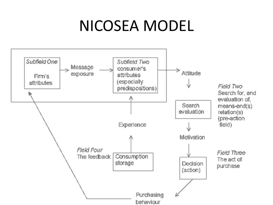 howard sheth model consumer behaviour