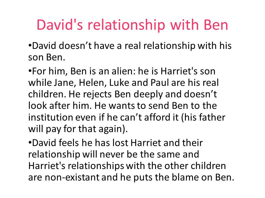 David s relationship with Ben
