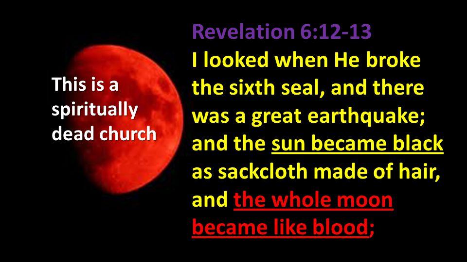 Revelation 6:12-13