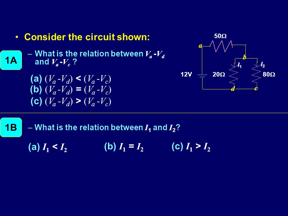 Consider the circuit shown: