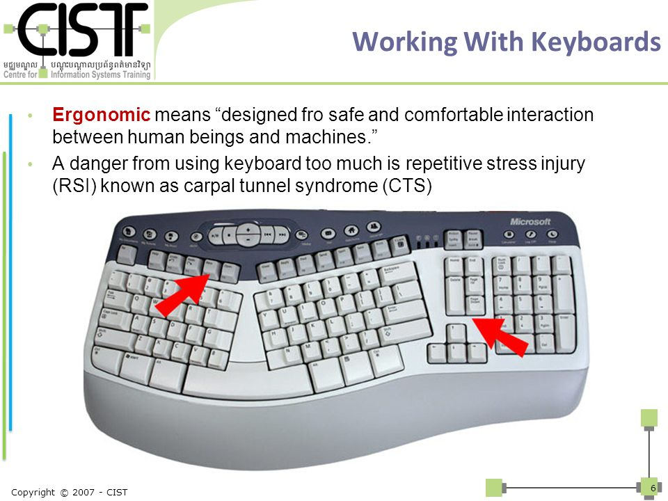 Working With Keyboards