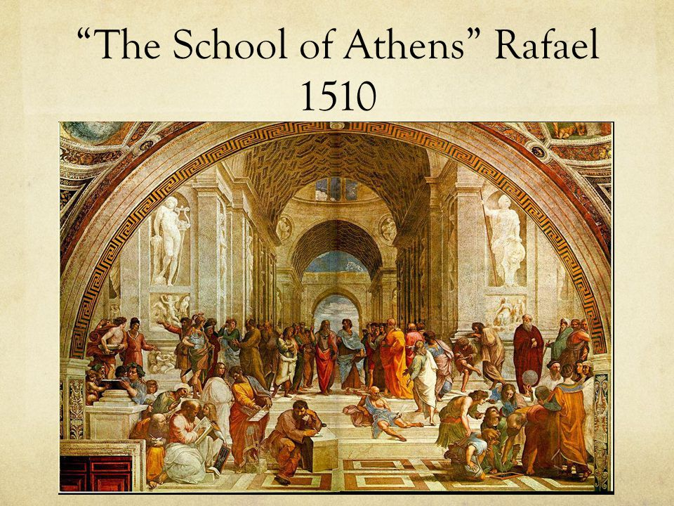 The School of Athens Rafael 1510