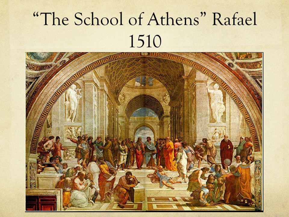 The School of Athens Rafael 1510