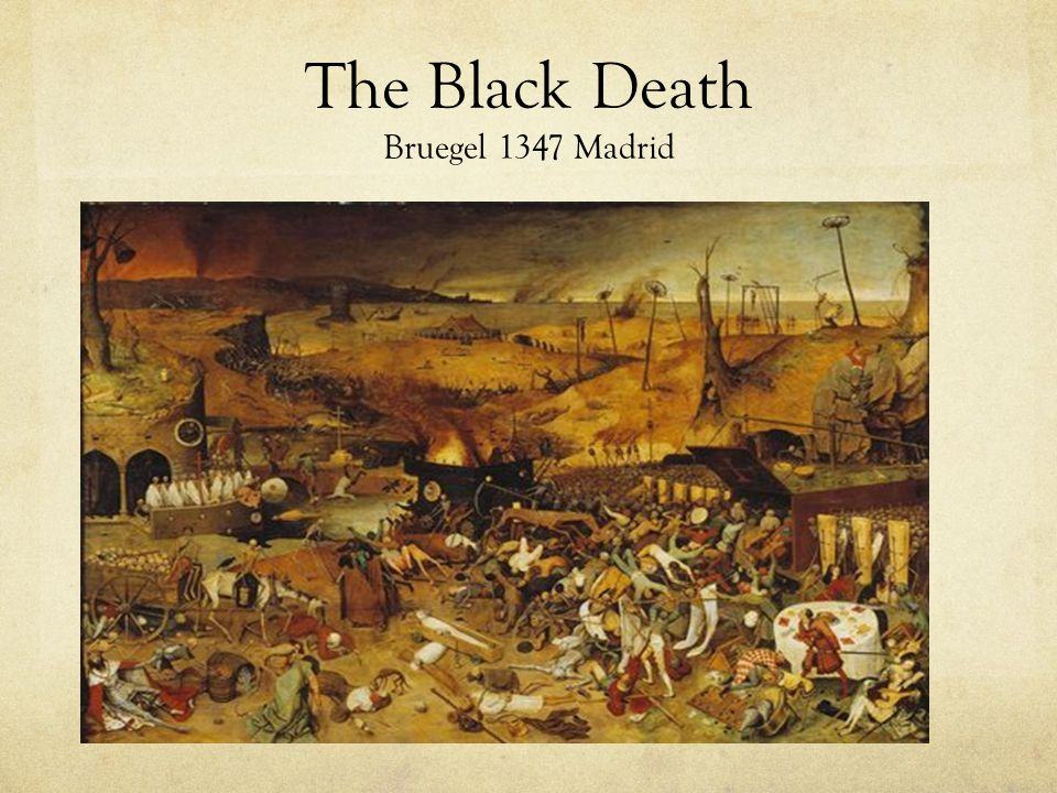 The Black Death Bruegel 1347 Madrid