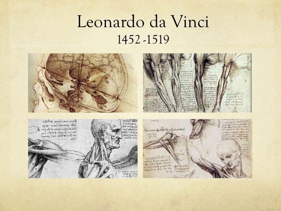 Leonardo da Vinci 1452 -1519