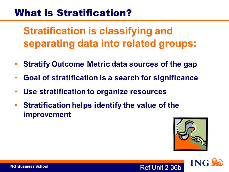 What is Stratification