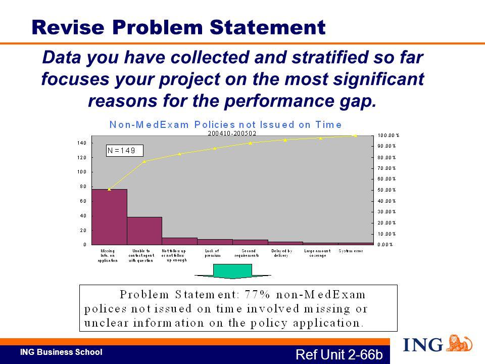 Revise Problem Statement
